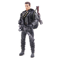 Wholesale Classic Movie Arnold Schwarzenegger Doll NECA The Terminator T800 Cyberdyne Showdown Model Action Figure Toy cm PVC