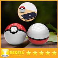 battery power toys - Pokeball For Poke Go Toy Power Bank mAh Portable Charger External Battery Ball USB Powerbank For iPhone Phones With LED Light