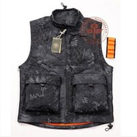 Wholesale Rattlesnake airsoft tactical vest hunting shooting sport clothes men outdoor bike riding vest