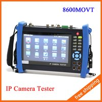 Wholesale 7 inch Touch Screen P HDMI IP Camera CCTV Tester POE Test WIFI Optical Power Meter TDR MOVT