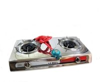 Wholesale Portable Propane Double Burner Camping Gas Stove Gate Tailgating