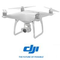Livraison gratuite Top Tech! DJI Phantom 4 DISPONIBLE! Quadcopter Professional avec caméra 4K et 3-Axis Gimbal Drone Poursuite visuelle