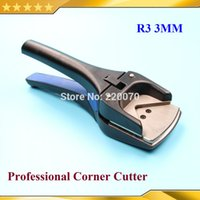 Wholesale R3 mm Radius Handheld Professional PVC Card Photo Corner Round Cutter