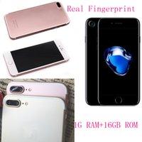 Android couleur email Prix-Goophonie réel i7 plus 1 Go de RAM 16 Go 1: 1 clone téléphones portables 5,5 pouces MTK6580 Quad Core 4g show lg 1G 64G 800 caméra couleur noir
