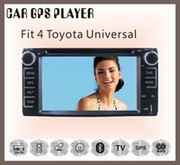 Wholesale For Toyota universal rav4 prado corolla camry hilux land cruiser car dvd bluetooth tv gps player free map CM multimedia system stereo