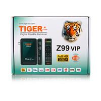 Cheap Echolink Digital Satellite Receiver Tiger Z99 vip DVB S2 Full HD Iptv Box Free To Air Internet Receiver
