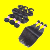Wholesale Brazilian Virgin Hair Bundles Remy Human Hair Wefts Body Wave Peruvian Hair Weave Color B Ombre Hair Extensions Human Hair Weave