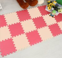 Wholesale Baby Play Mats Rugs Ecofriendly EVA Puzzle Mats Waterproof Gym Foam Floor Mats Carpets Interlocking Exercise Tiles OEM Customized