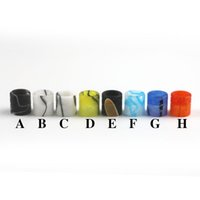 Wholesale wide bore drip tip acrylic drip tip fit to electronic cigarettes Vaporizer Aspire Cleito E cig Tank RDA