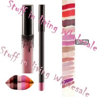 Wholesale Hot Selling Posie K Kylie Long Lasting Make Up Matte Lipsticks Liner Kit and Matte Liquid Lipstick Lip Liner Cosmetics
