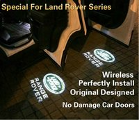 Wholesale Special For Land Rover Freelander Discovery Range Rover Evoque Car Door Logo Lights Wireless Original Designed Perfectly Install