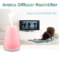air conditioning leads - Mini Aroma Diffuser Humidifier Color Change LED Night Light Ultrasonic Essential Oil Diffuser Mist Maker Home Decor for Air Conditioning