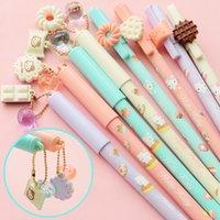 Wholesale Cute Kitty Gel Pen Black Ink Pens for writin Kawaii Canetas escolar papelaria Cute Stationery gift School Supplies c577
