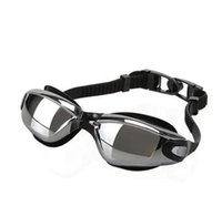 Wholesale 2016 New Anti Fog Swimming Goggles Coating Kids Swim Glasses Men Women Children Goggles sports baby Swim Eyeglasses Damon001
