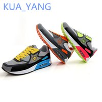 b units - 2016 New Arrived Leather Men Leisure Max Air Unit For Cushioning Lace up Running Sneaker