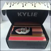 Wholesale 2016 NEW Kylie Jenner Matte Liquid Lipstick KYLIE Matte Lip Gloss Makeup Lipstick Colors with Black Box