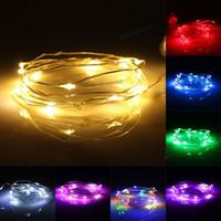 Wholesale 2M LED String Fairy Waterproof Petals Light Party Lamp Xmas Tree Wedding Decor DEL_10A