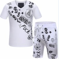 2016 Costumes d'été pour hommes Costumes pour hommes Sportswear Sport Ensembles de mode décontracté Costumes de jogging Design neuf