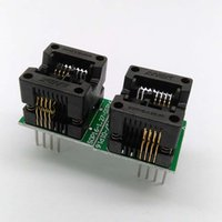Wholesale 2 SOP8 mil mm Programming Socket SOP8 to DIP8 IC Test Socket OTS Programmer Adapter