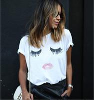 Wholesale wishcart New Fashion emoji cotton d white tshirt ladies women t shirts