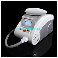 Wholesale New Coming nm nm Q Switched Nd Yag Laser Tattoo Eyebrow Pigment Removal Scar Acne Removal Laser Machine