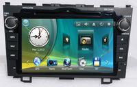 Wholesale 8 inch Car DVD Player for Honda CRV Car Video Car Electronics With GPS BT CDC SD USB ATV RDS IPOD G SD Map