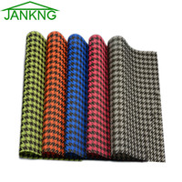 bar table designs - JANKNG Plaid Design PVC Placemat Dining Table Mat Bar Mat Kitchen Accessories Dining Bowl Plate Pad Table Decoration