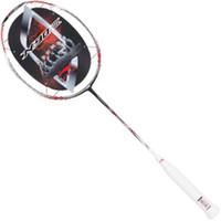Wholesale Lining badminton racket nano carbon n90iii N90 badminton racket to absorb sweat Pioneer li ning racket raquete