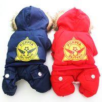 animal ski jackets - Pet Dog Coat Jacket quot Puppy Ski Team quot Design Pet Puppy Hoody Waterproof Winter Warm Clothes Ssizes