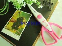 Wholesale Paper Edger Pinking Shears Zig Zag Scissors Scrapbooking Decorative Craft Pattern Edged Scissors Paper Trimmer