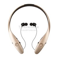 apple management - HBS Stereo Wireless Bluetooth headset Headphone CSR CHIP Sports Style with Retractable wire management handsfree for IOS Android