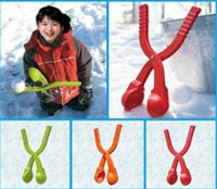 animal house clips - 1pc Winter Snow Ball Maker Sand Mold Tool Kids Toy Lightweight Compact Snowball Fight Battle Scoop Tool Clip CX673720