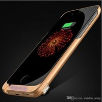 10000mAh Retour Clip Chargeur de batterie Power Bank pour iPhone 6 Luxury Powerbank W / Mobile Phone Holder Fonction