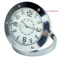 Precio de Seguridad de audio-20pcs Nuevo reloj del escritorio del mini espía ocultos niñera cámara de vídeo DVR grabadora de audio de detección de movimiento para la Seguridad