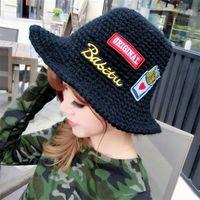 basic crochet hat - Women Fashion Outdoor Fisherman Hat Basic cap Bucket Hat Sun Crochet Hats Beach Hat Top hat drmz a16