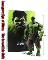 Wholesale Hot Marvel Avengers Age of Ultron The Incredible Hulk CM Action Figure New IN Box