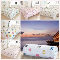 baby girl comforter sets - Baby Summer Quilt Cartoon Cotton Comforter kids Bedding sets thin blanket Children Boys Girls designs cm LJJO253
