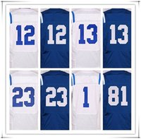 andrew luck jersey - 2017 Stitched ELITE McAFEE Andrew LUCK HILTON Gore Johnson Jersey SPORT HOT sale brand cheap jerseys with brand logo