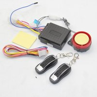 Wholesale 12V Universal Motorcycle Motorbike Scooter Compact Security Car MP3 Alarm System Remote Control Engine Start For KAWASAKI For ATV ECT