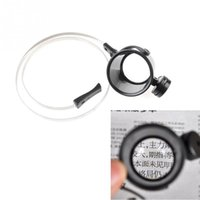 Wholesale Led X Magnifier Eye Loupe With LED Lighting For Jewelers Magnifying Glass Watchmakers