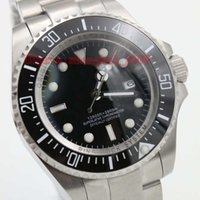 auto glass systems - Hot sell Deep116600 sea0Dweller Ceramic bezel Sapphire Glass Automatic Mechanical Watch With Gildelock system stainless steel
