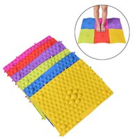 acupressure foot mat - Toe Plate Foot Massage Acupressure Reflexology Cushion Foot Pad Mat Health Promoting Blood Circulation