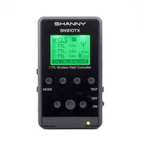 Wholesale Shanny SN910TX G Wireless Radio Signal System S AF Assist focus i TTL Speedlite Transmitter for Nikon Shanny SN910EX R