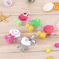 bathroom accessory stores - cute Cartoon sucker toothbrush holder suction hooks bathroom set accessories Eco Friendly Worldwide Store