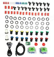 arcade joystick pc - Arcade Parts Bundles Kit with SEIMITSU Joystick Button Players USB to Jamma PC Board to DIY Arcade