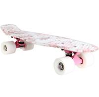 Wholesale Skate board kg Load Retro Skateboard Pattern Outdoor Sports Board Durable Lightweight