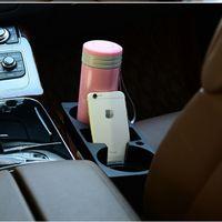 Wholesale Car Cup Phone Holder Storage Box For Mitsubishi ASX Lancer Pajero Sport Outlander Honda Civic Fit City CRV Accord Accessories