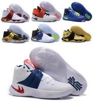 Wholesale New Kyrie Irving Men Basketball Shoes Kyrie Bright Crimson Tie Dye BHM All Star Basketball Sneakers With High Quality For Sale