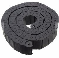 Wholesale 15x30mm Plastic Cable Semi closed Drag Chain Wire Carrier Length mm Plastic Towline for CNC Router Machine