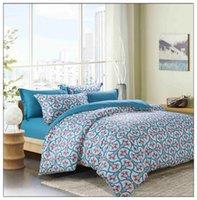 Wholesale SEV I004 Cotton Printing Bedding Sets duvet cover sheet pillowcases Designs for Choose
